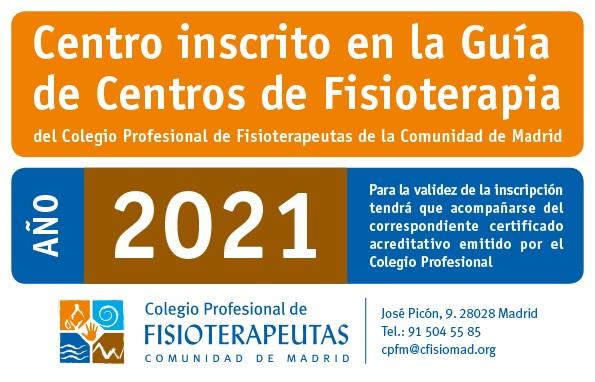 certificado colegio oficial de fisioterapeutas de madrid