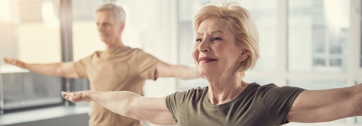 Los ejercicios de fisioterapia para personas mayores fomentan un mayor bienestar personal